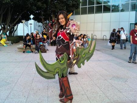 Blood Elf from World of Warcraft worn by derelict_