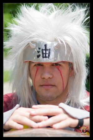 Jiraiya from Naruto worn by Miles