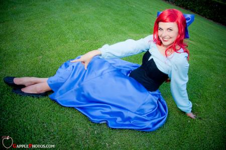 Ariel from Little Mermaid worn by Nessabutterfly