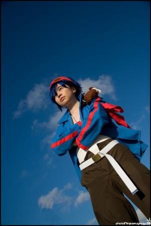 Simon from Tengen Toppa Gurren-Lagann worn by Gwiffen