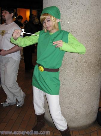 Link from Legend of Zelda: The Wind Waker worn by Gwiffen
