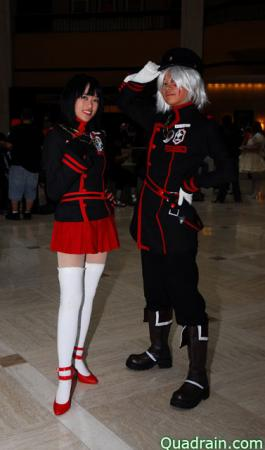 Allen Walker from D. Gray-Man worn by Gwiffen