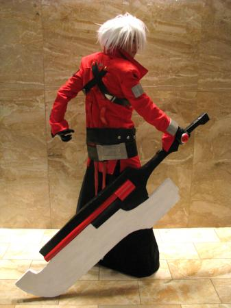 Ragna the Bloodedge from BlazBlue: Calamity Trigger (Worn by Gwiffen)