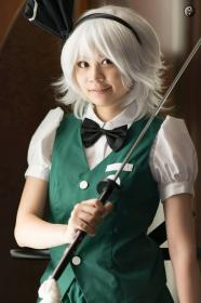 Youmu Konpaku from Touhou Project  by Gwiffen