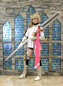 Alisha from Tales of Zestiria worn by Gwiffen