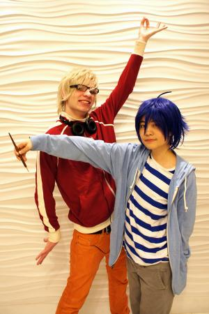 Mashiro Moritaka from Bakuman worn by Gwiffen