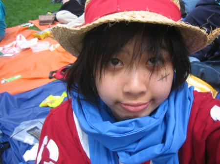 Monkey D. Luffy from One Piece worn by Gumii