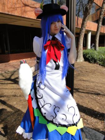 Tenshi Hinanai from Touhou Project worn by Kohime