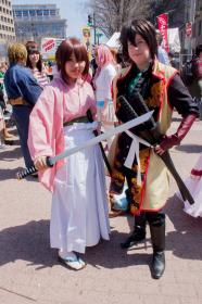 Okita Souji from Hakuouki Shinsengumi Kitan  by Lyn Hargreaves