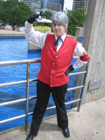 Akihiko from Persona 3 worn by Lyn Hargreaves