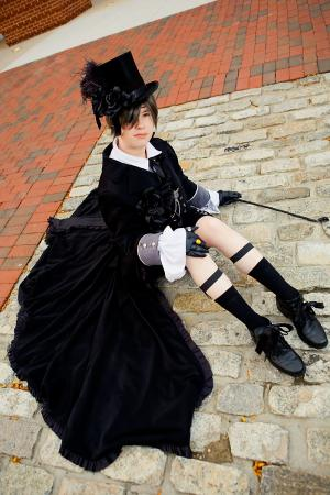 Ciel Phantomhive from Black Butler worn by Lyn Hargreaves