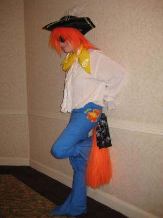 Barnacle from My Little Pony worn by Lyn Hargreaves
