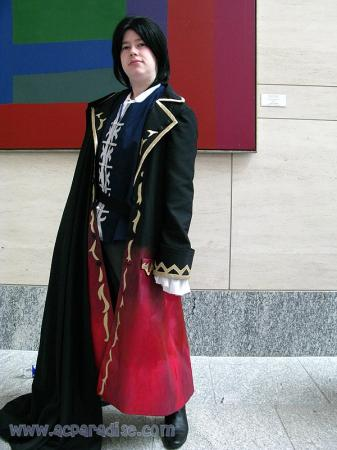 Glen Baskerville from Pandora Hearts worn by Lyn Hargreaves