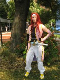 Zelos Wilder from Tales of Symphonia worn by Lyn Hargreaves