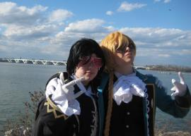 Glen Baskerville from Pandora Hearts