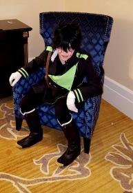 Yuichiro Hyakuya from Seraph of the End worn by Lyn Hargreaves