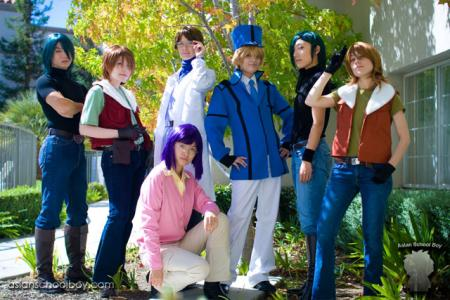 Allelujah / Hallelujah Haptism from Mobile Suit Gundam 00 worn by Sephy