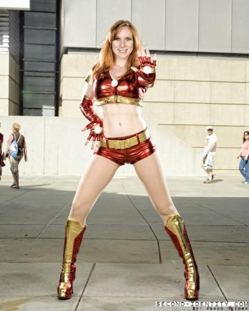 Ironette Dancer from Iron Man worn by Lady S.