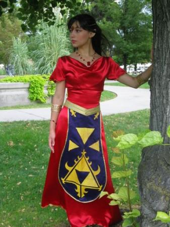 Princess Zelda from Legend of Zelda II: Adventure of Link worn by akuriko