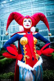 Harlequin from Chrono Cross worn by akuriko