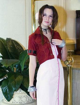 Aeris / Aerith Gainsborough from Final Fantasy VII: Advent Children worn by Neoangelwink