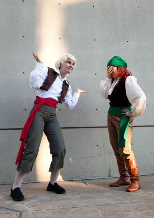 Guybrush Threepwood from Curse of Monkey Island worn by Neoangelwink