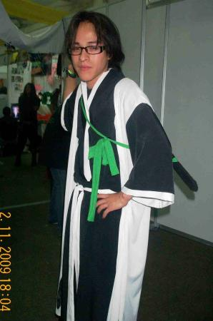 Toushiro Hitsugaya from Bleach worn by Angel Super Star Dimensional Warrior