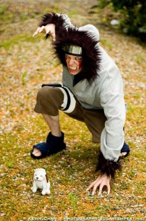Kiba Inuzuka from Naruto worn by chibik3r0