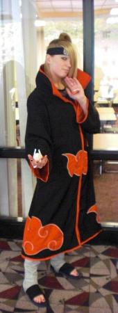 Deidara from Naruto worn by Nikkiolie