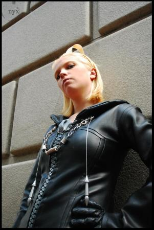 Larxene from Kingdom Hearts: Chain of Memories worn by Nikkiolie