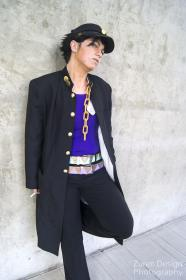 Jotaro Kujo from Jojo's Bizarre Adventure worn by Nikkiolie