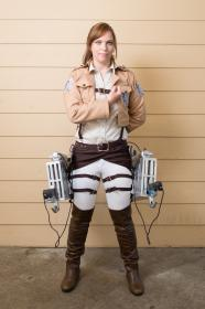 Sasha Braus from Attack on Titan worn by Nikkiolie