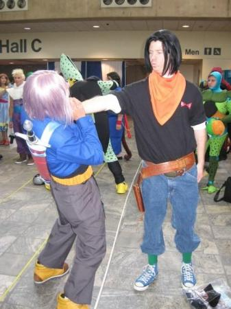 Android #17 from Dragonball Z worn by VisoredLeader