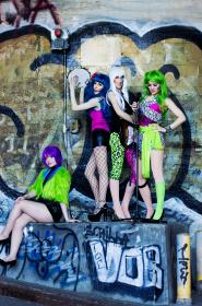 Pizzazz from Jem and the Holograms  by mostflogged