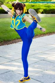 Chun Li from Street Fighter Alpha  by mostflogged