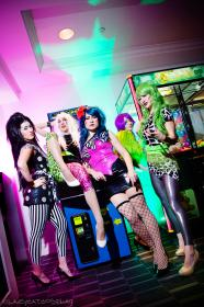 Pizzazz from Jem and the Holograms worn by mostflogged