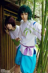 Haku from Spirited Away by mostflogged