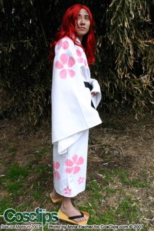 Renji Abarai from Bleach worn by Shounen Soul