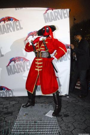 Deadpool from Marvel Comics worn by amande