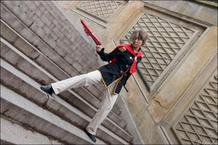 Nine from Final Fantasy Type-0 (Worn by amande)