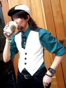 Kotetsu T. Kaburagi / Wild Tiger from Tiger and Bunny worn by Shounen Soul