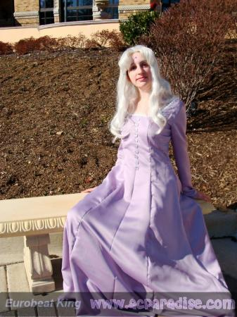 Amalthea from Last Unicorn worn by Lady Terentia