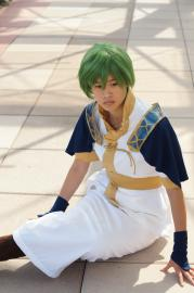 Merric from Fire Emblem: Shadow Dragon worn by Arieta