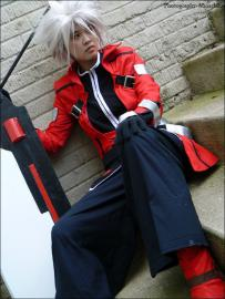 Ragna the Bloodedge from BlazBlue: Calamity Trigger worn by Arieta