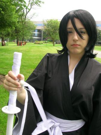 Rukia Kuchiki from Bleach worn by Vanessa
