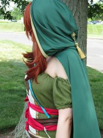 Emerald Herald (Shanalotte) from Dark Souls by Vanessa