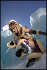 Kirin Armor (Female) from Monster Hunter worn by Ifria