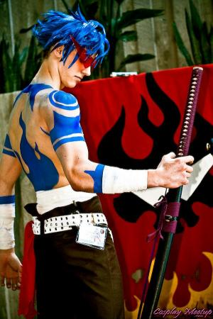 Kamina from Tengen Toppa Gurren-Lagann