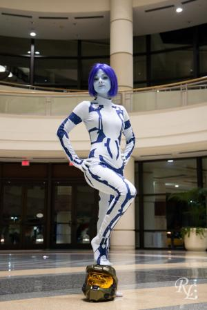 Cortana from Halo 3 worn by MsValentine