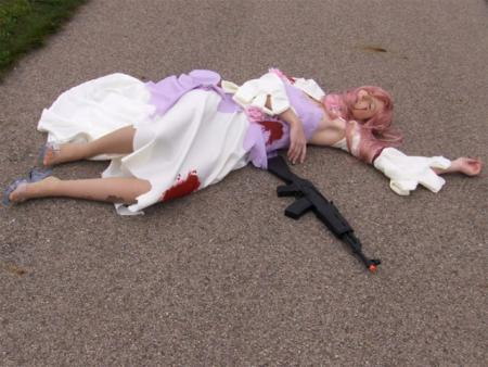 Euphemia Li Britannia from Code Geass worn by Sailor Anime